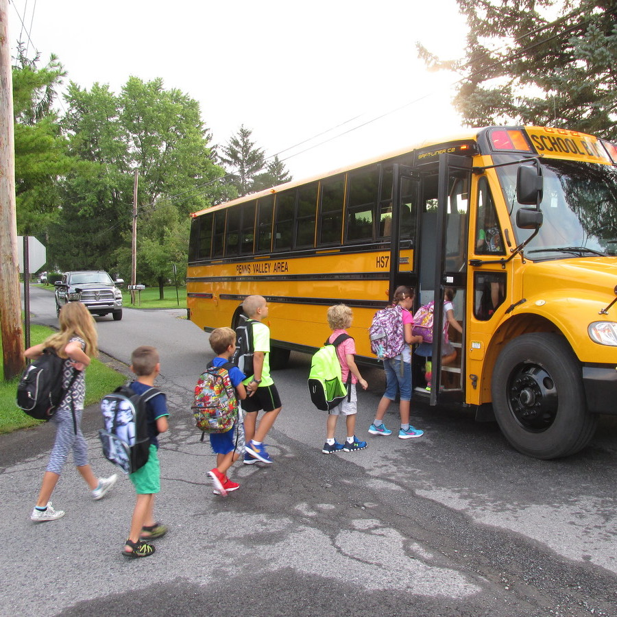 Penns Valley students return to school