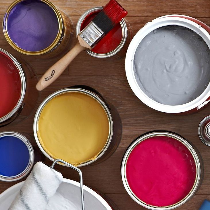 Paint can add a splash of color to a room