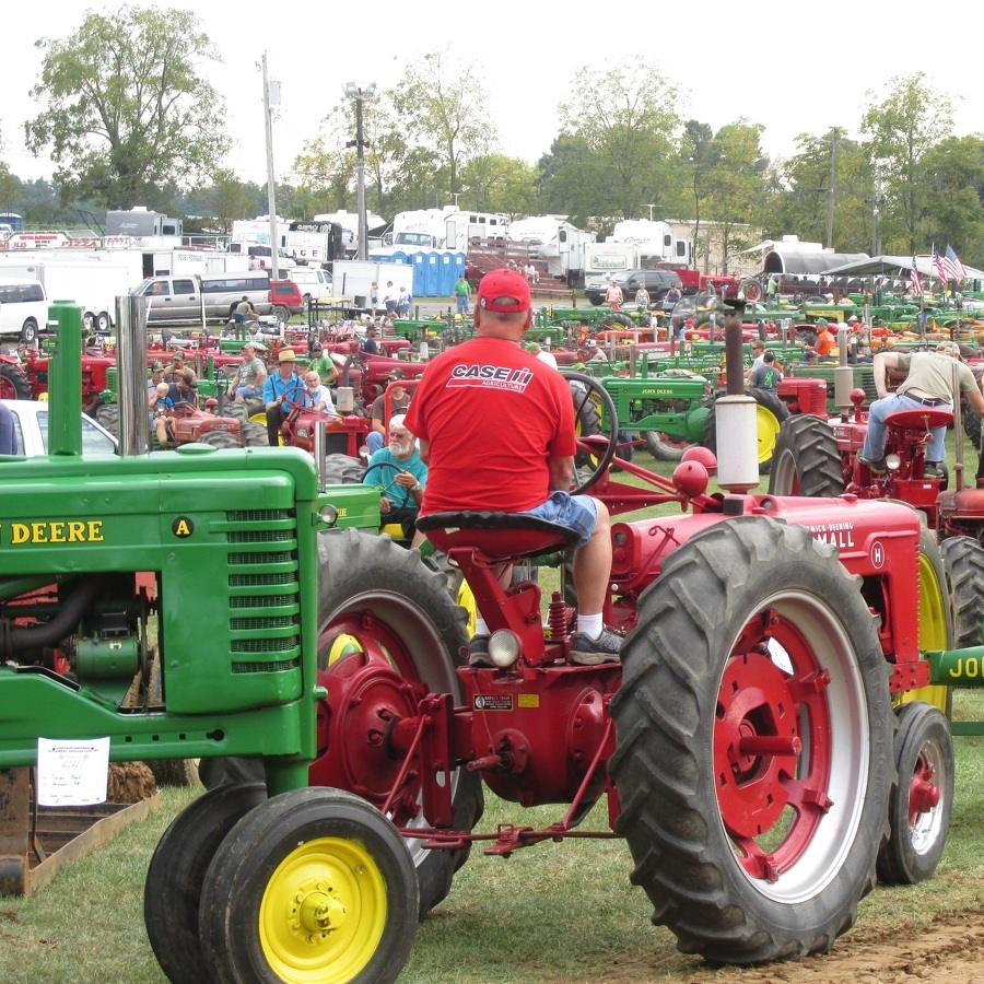 Antique Machinery show draws a crowd