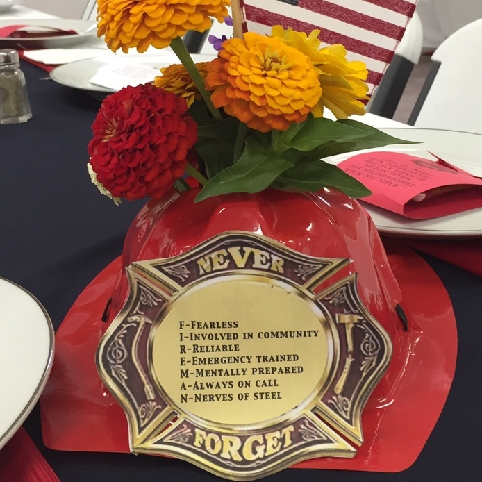 Fire Company honored at dinner