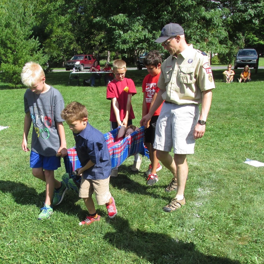 Boalsburg Cub Scouts hold Cub Olympic event