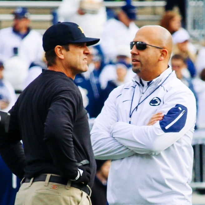 Kickoff, TV Announced for Penn State at Michigan