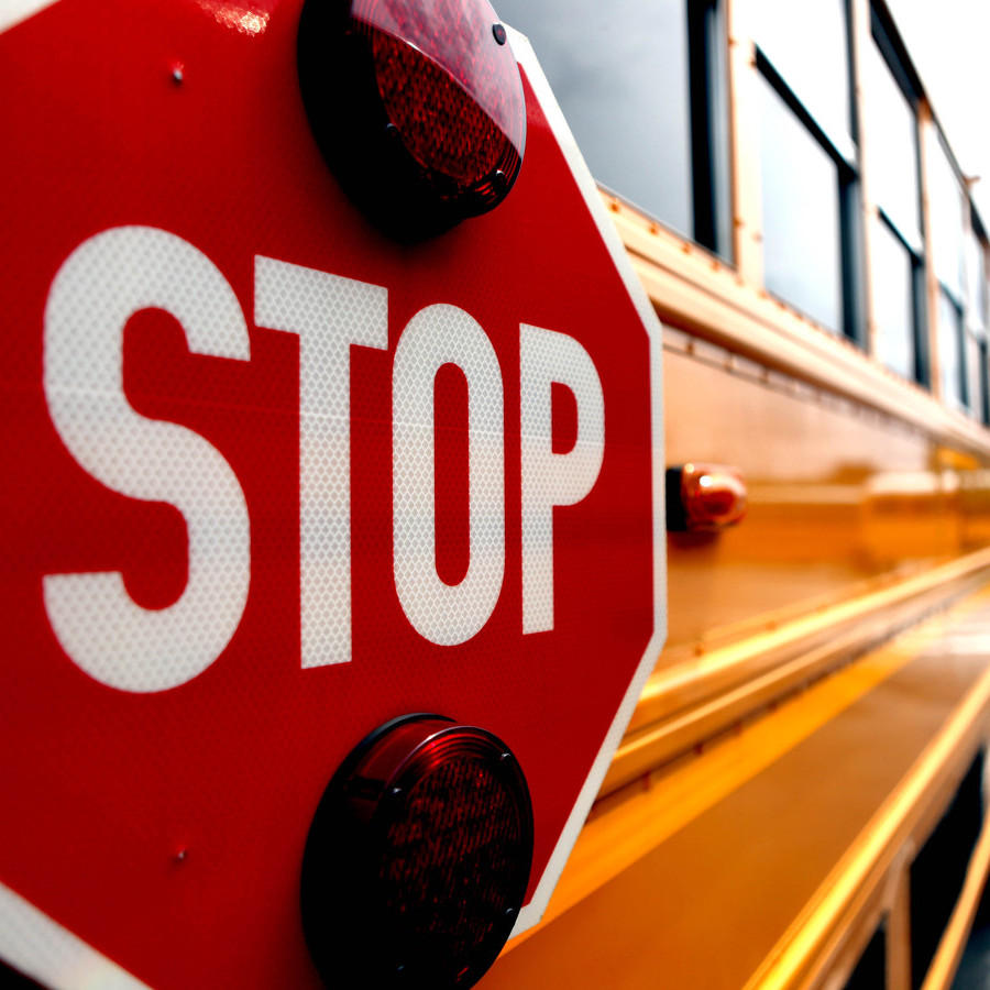 Student Struck by Car at School Bus Stop