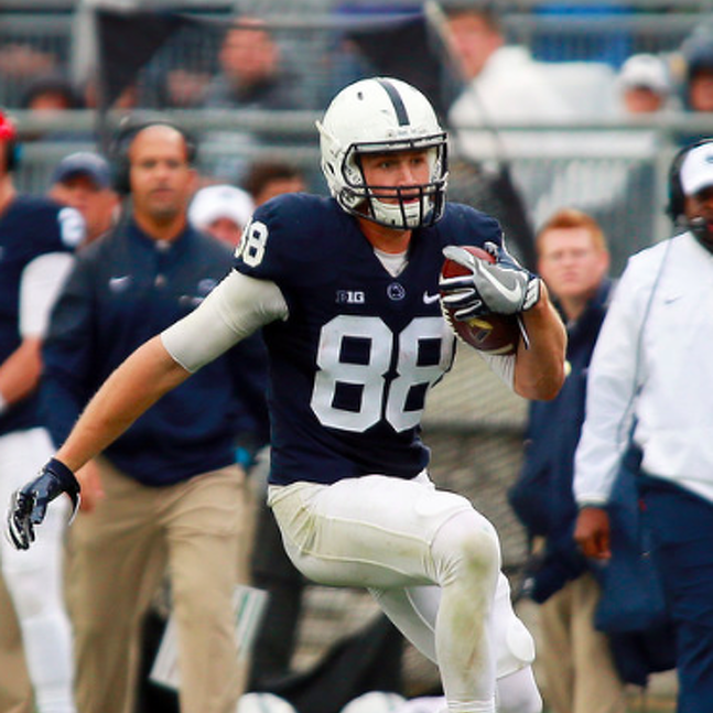 Penn State Football: Mike Gesicki Named To Mackey Award Midseason Watch List