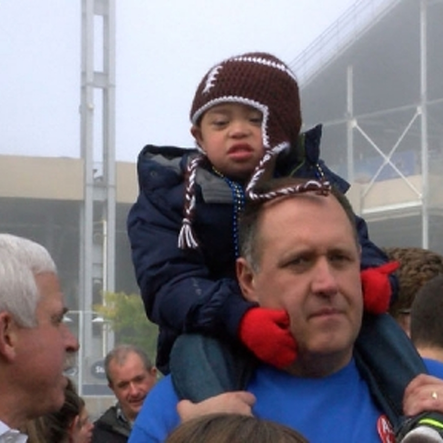 Buddy Walk Supports Down Syndrome Society