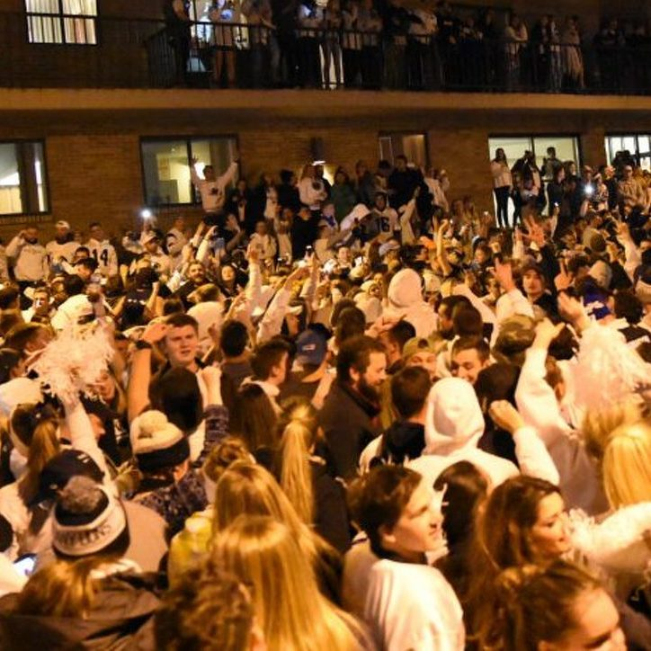 Damage, Arrests After Thousands Take to Street to Celebrate Penn State Win