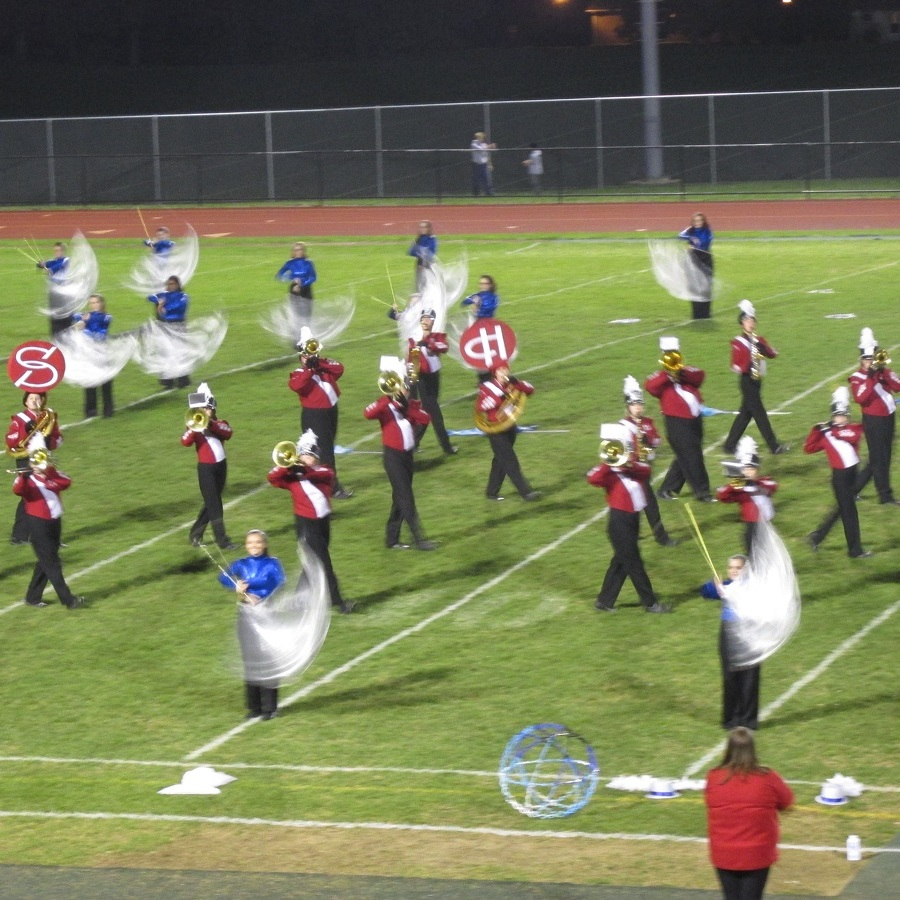Penns Valley hosts marching band festival