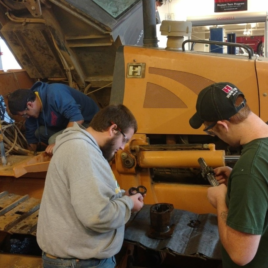 Central Pennsylvania Institute of Science and Technology students save hydraulic system
