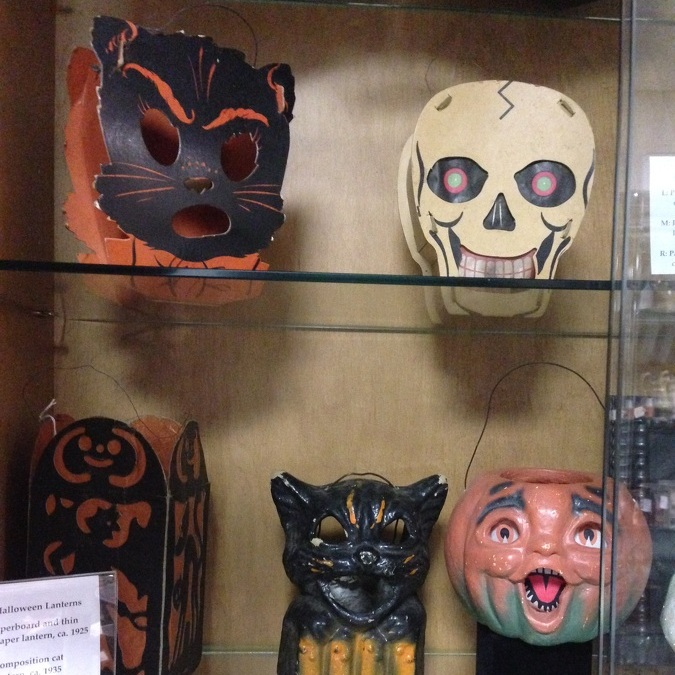 Apple Hill Antiques: Vintage Halloween lanterns, candy containers are popular collectibles