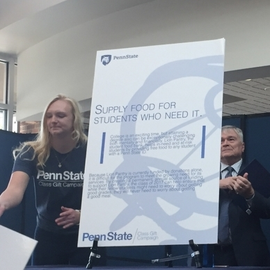 Penn State Senior Class Gift to Fund Food Pantry for Students in Need