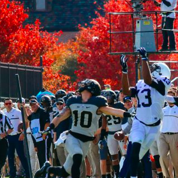 Penn State Scores 45 in Second Half to Blow Past Purdue 62-24