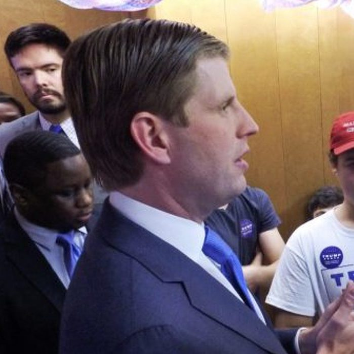 Eric Trump Rallies His Father's Supporters in State College