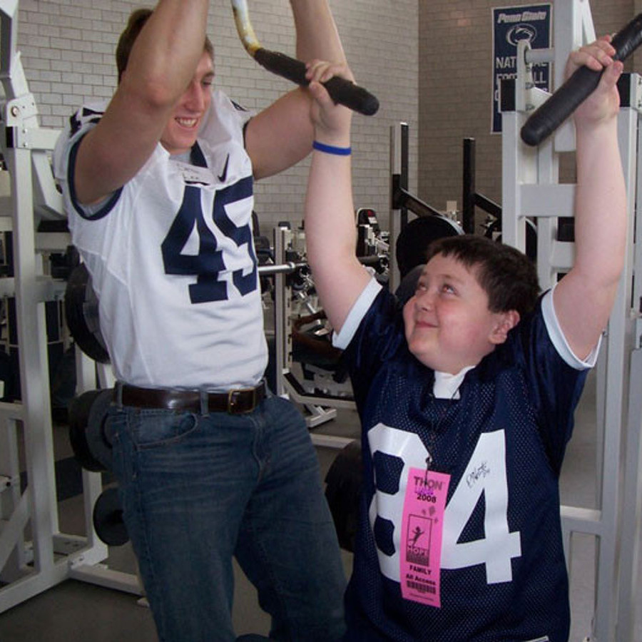 Pediatric Cancer Survivor Now a THON Advocate and Penn State Student