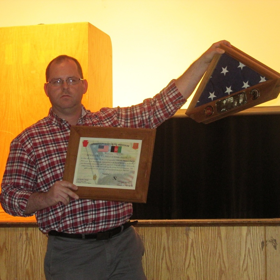 Penns Valley honors vets with assembly, luncheon