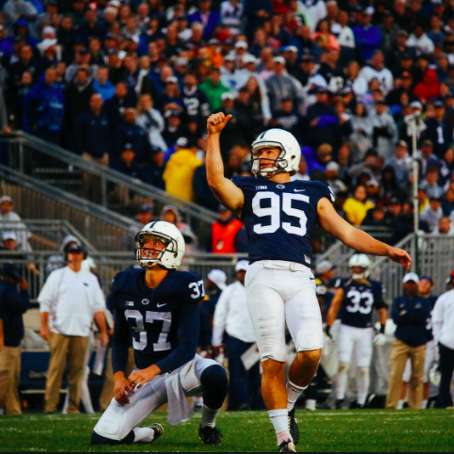 Penn State Football: Tyler Davis Named Big Ten Co-Special Teams Player Of Week
