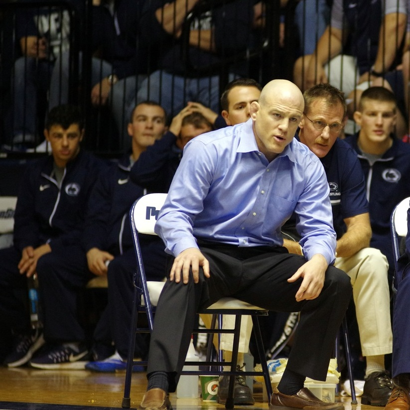 Penn State wrestlers face stiff test from Lehigh