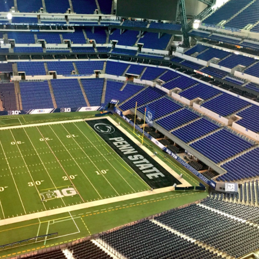 Penn State Football: Field Ready In Indy As Wisconsin Tweets At Franklin