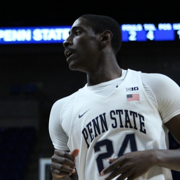 Garner, Watkins Lead Penn State Men's Hoops Past Wright State