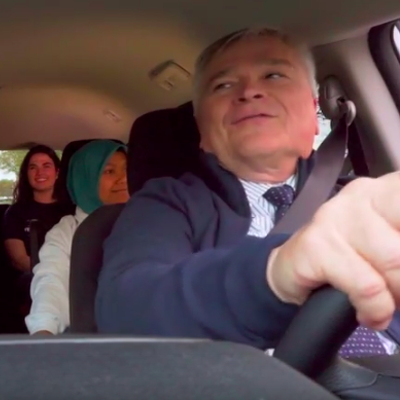 Penn State's Annual Holiday Greetings Video Features Uber Driver Eric Barron