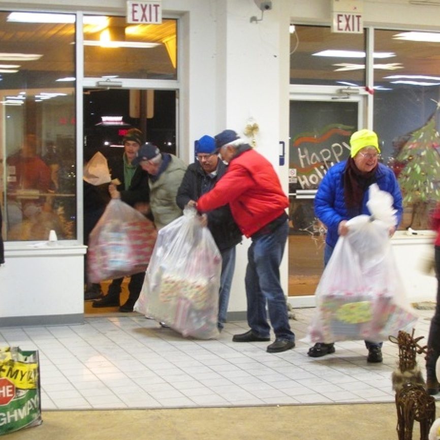 State College Elks Club Event Gives Toys, Food, Clothes to Needy