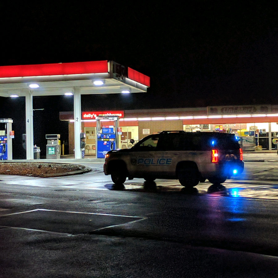 Police Respond to Reported Uni-Mart Armed Robbery