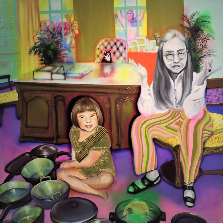 For artist, 'personal becomes political'