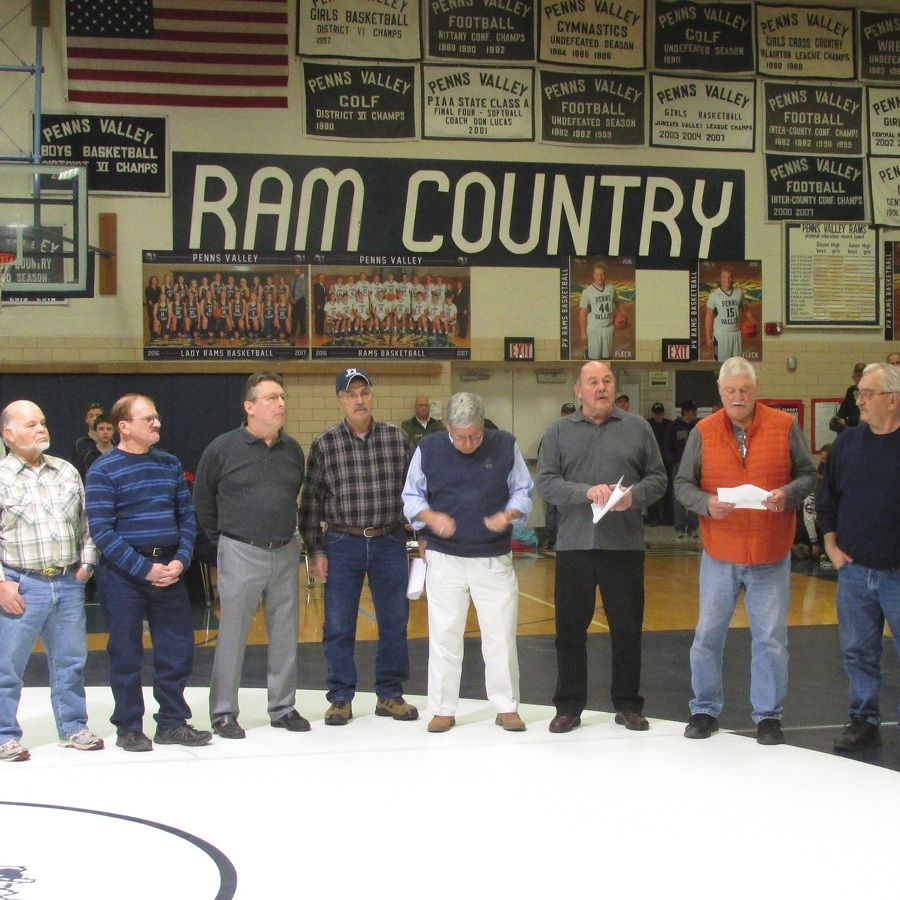 Penns Valley honors undefeated '60s wrestling teams