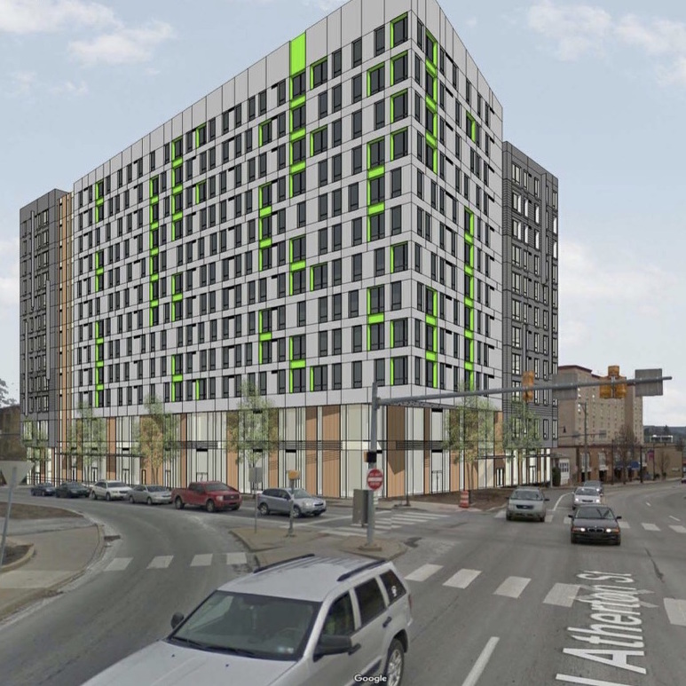 Plans Submitted for Possible New High-Rise in Downtown State College