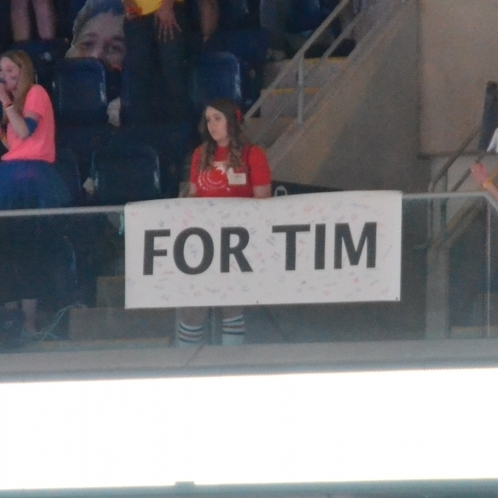 Organization's Banner at THON honors Timothy Piazza