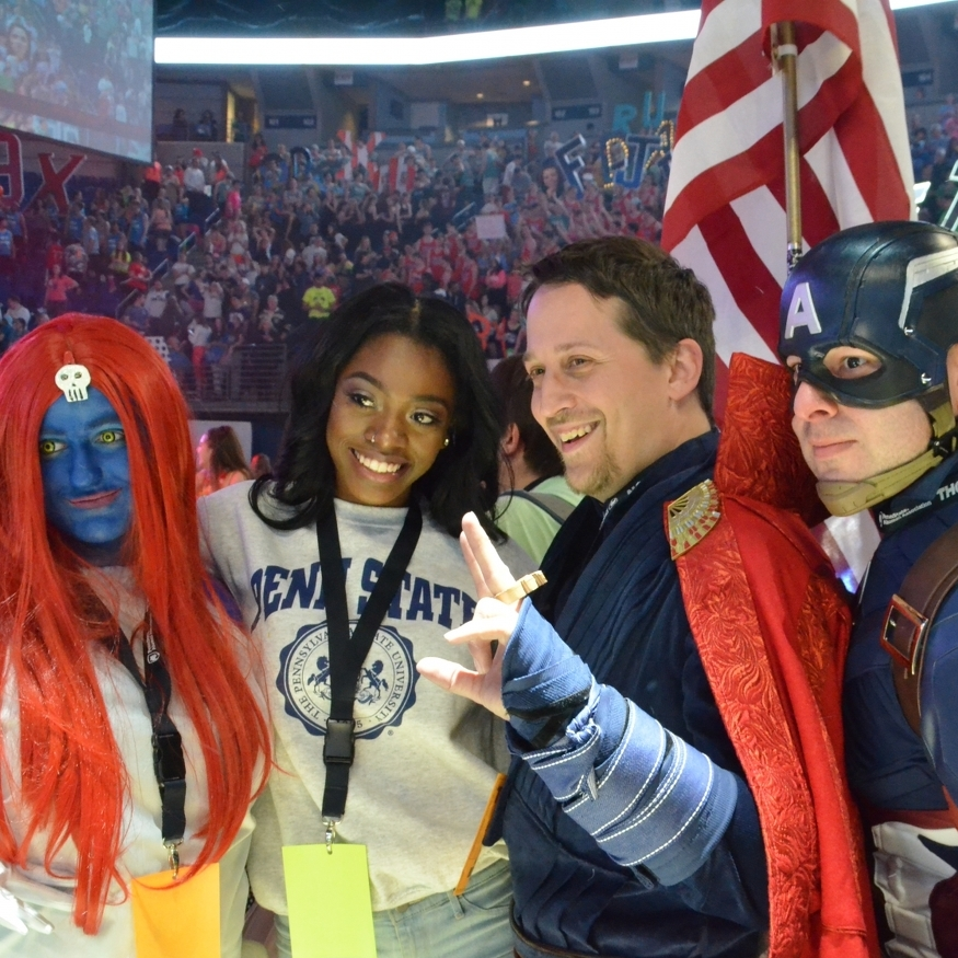 Central PA Avengers Make Appearance at THON