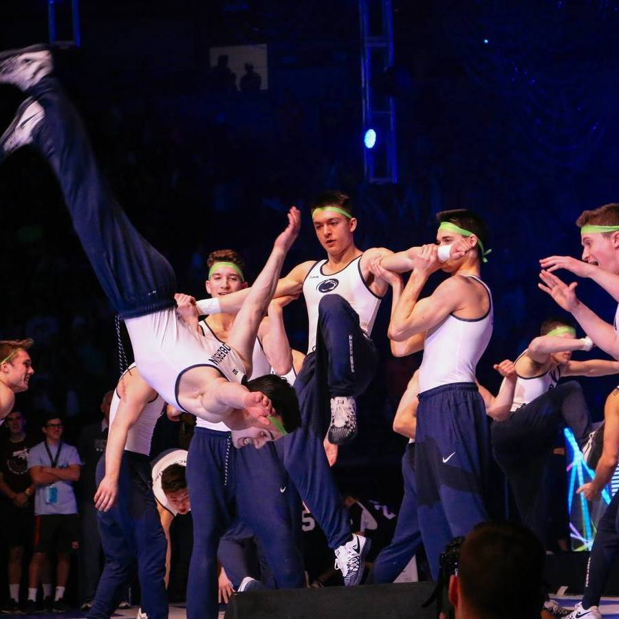 Athletes Entertain at THON Pep Rally