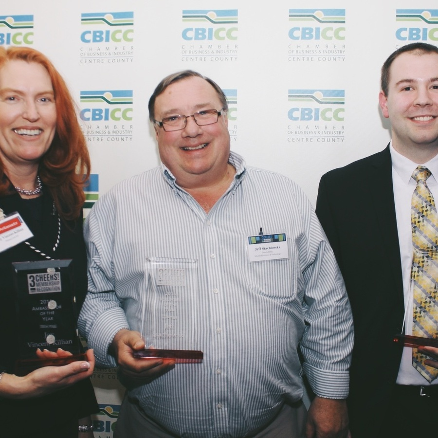 CBICC honors 3 at membership recognition event
