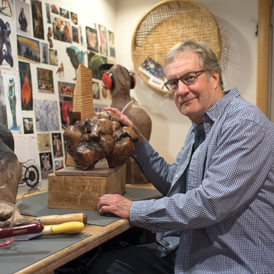 Artist of the Month: Sculptor Jim Bright
