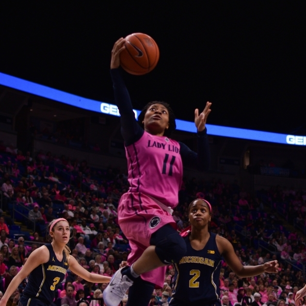 Lady Lion Page Named to All-Big Ten First Team