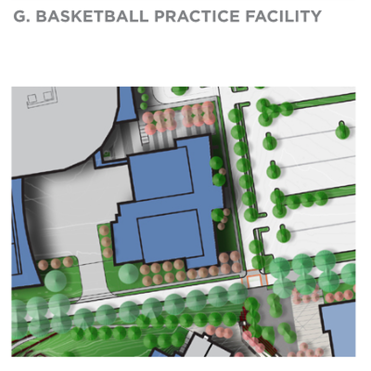 Penn State Basketball: Timeline Vague, But New Practice Facility In Master Plan