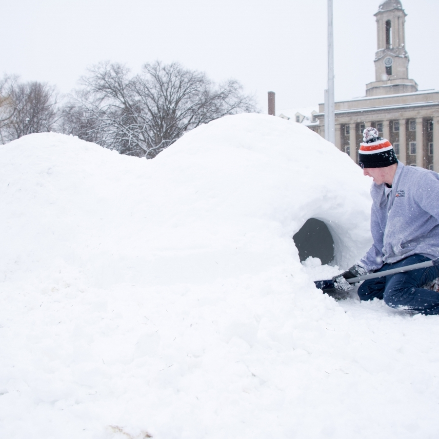 Scenes from a Centre County Snow Day