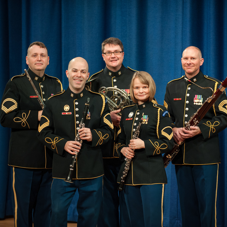 U.S. Army Band Woodwind Quintet to Perform at Penn State