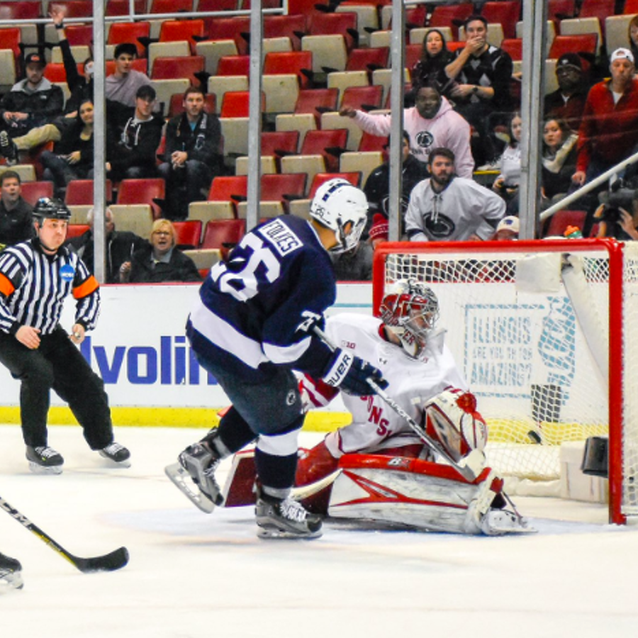 That's All Folkes, Penn State Hockey Win Big Ten Tournament In Double OT Against Wisconsin