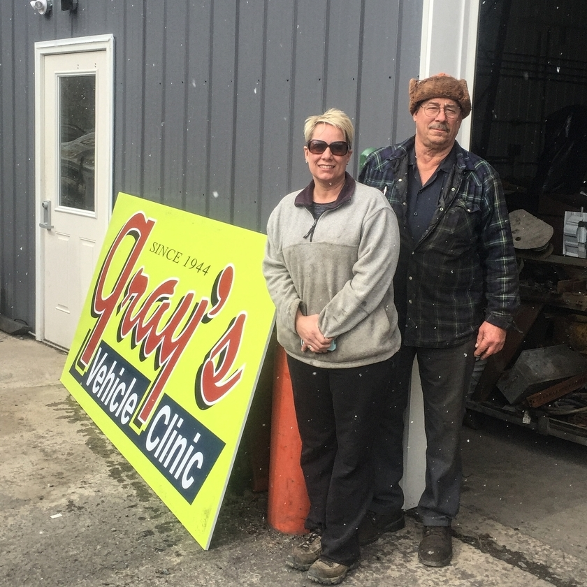 Gray's Vehicle Clinic in Bellefonte bouncing back from second big fire