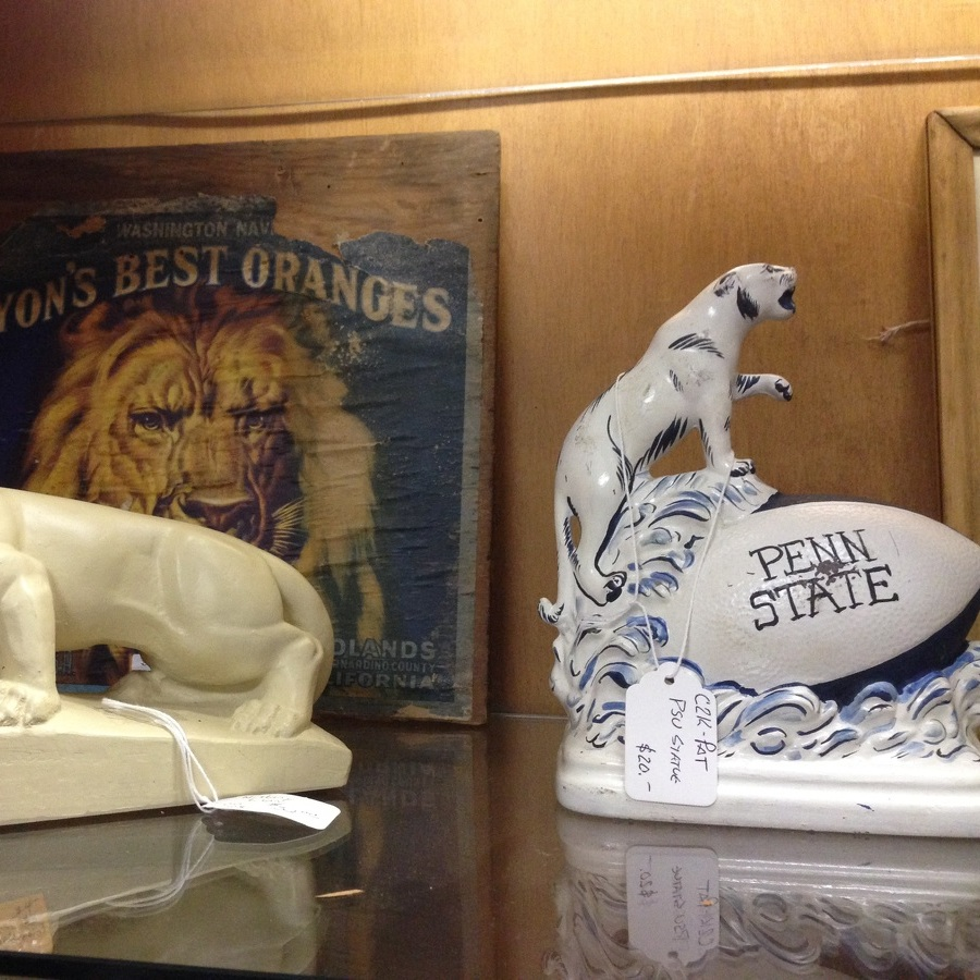 Nittany Lions and lambs are popular March collectibles