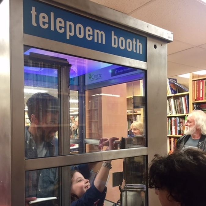 TelePoem Booth Offers Interactive Poetry Experience