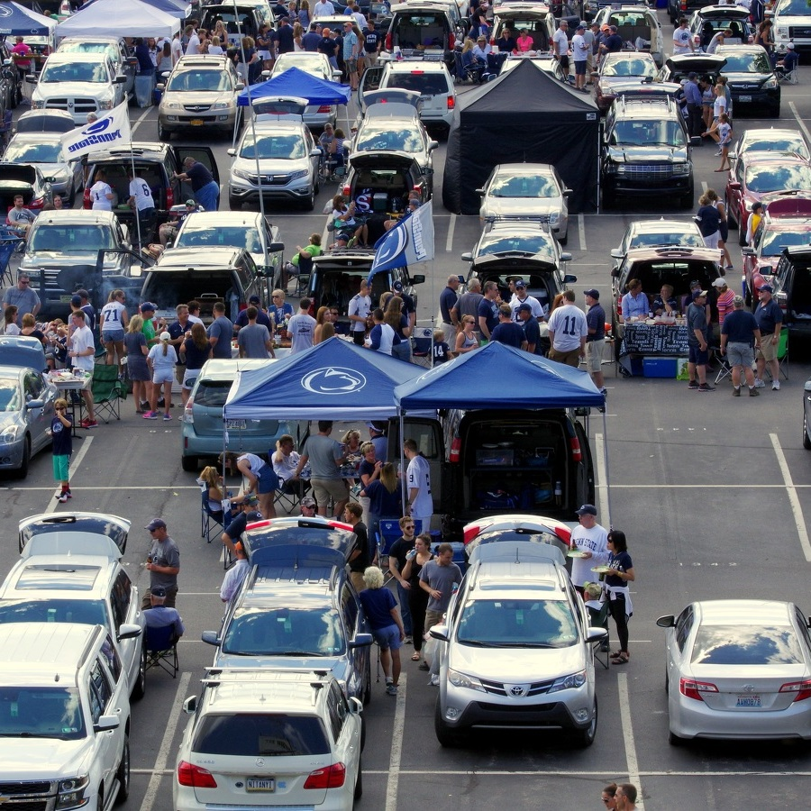 Fans will see parking changes at Penn State Blue-White game