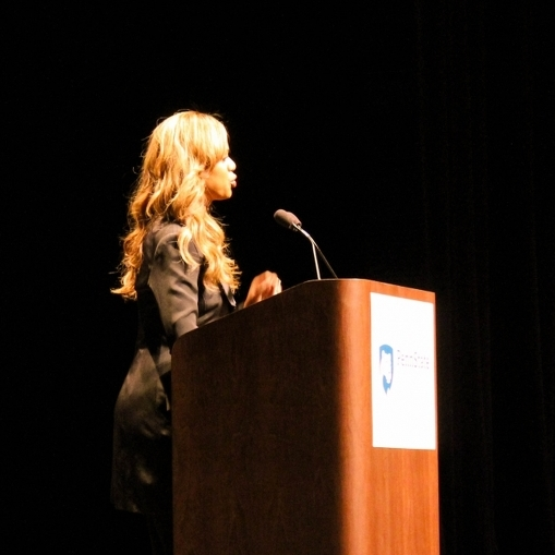 Activist, Actress Laverne Cox Shares Her Story at Eisenhower Auditorium