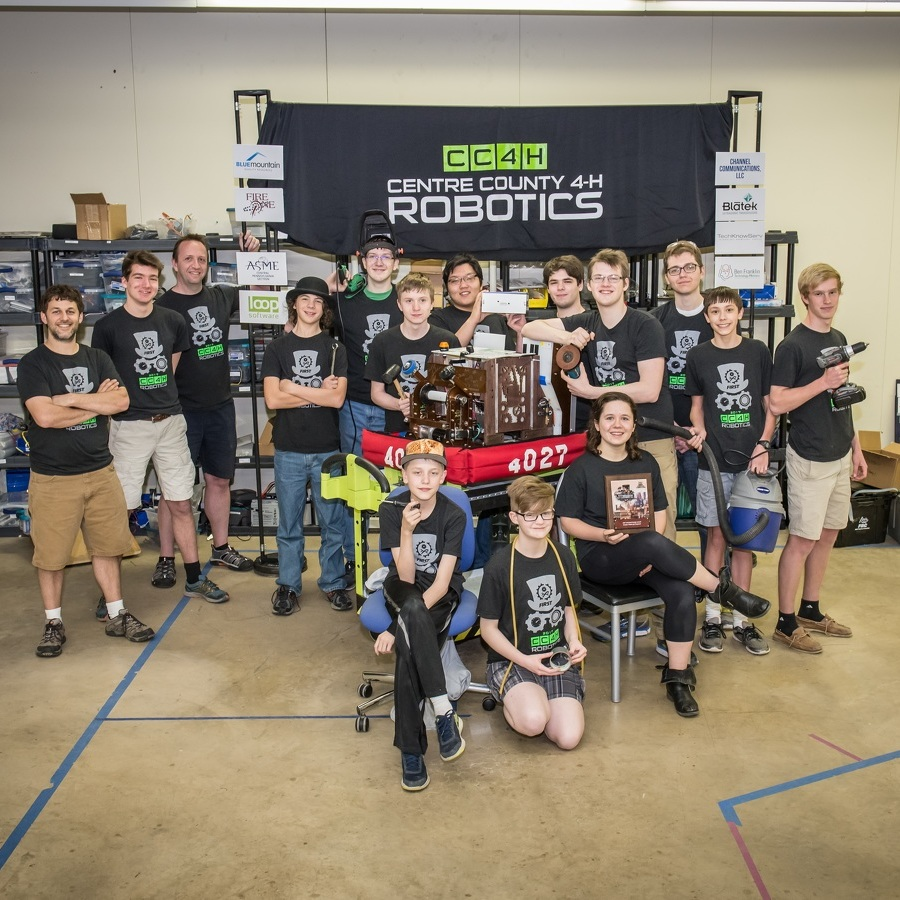 Centre County robotics team excels in competition