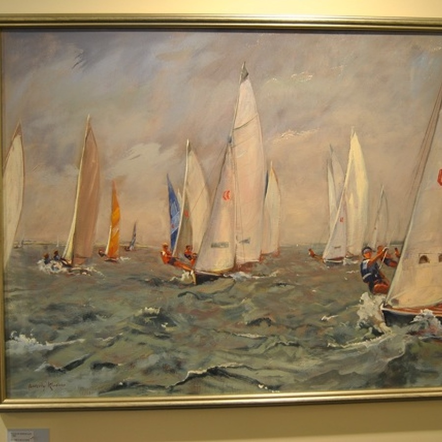 State College Framing Co. Art Show Features Beauty of Coastline