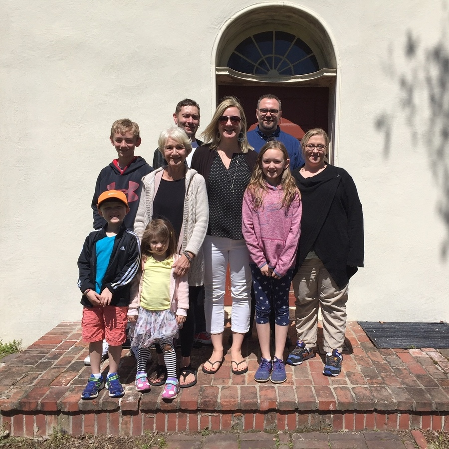 Curtin ancestors return to their roots at historic Bellefonte mansion