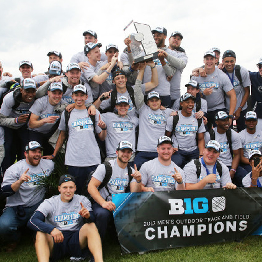 Penn State Men's Track and Field Wins First Big Ten Championship