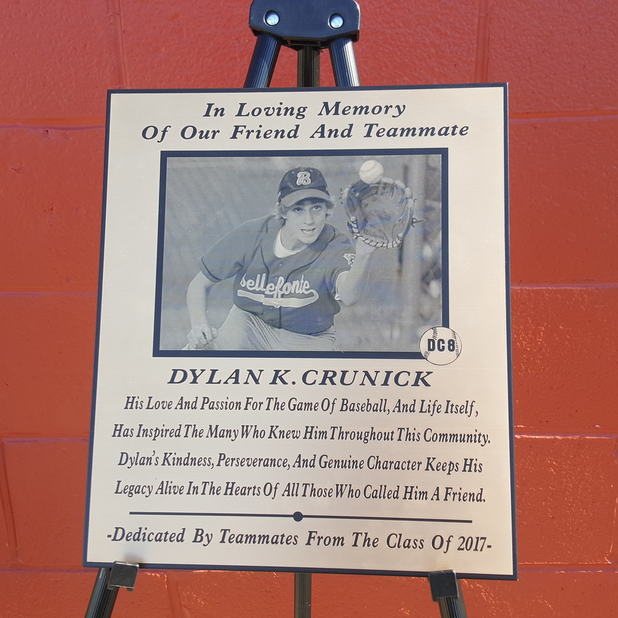 Bellefonte pays tribute to 'DC8' on Senior Day