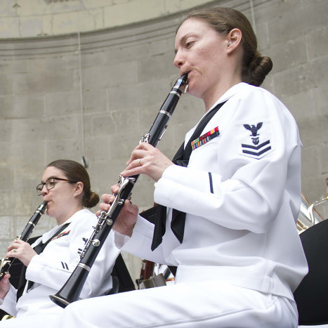 State College Native Performs with Navy Band During Fleet Week