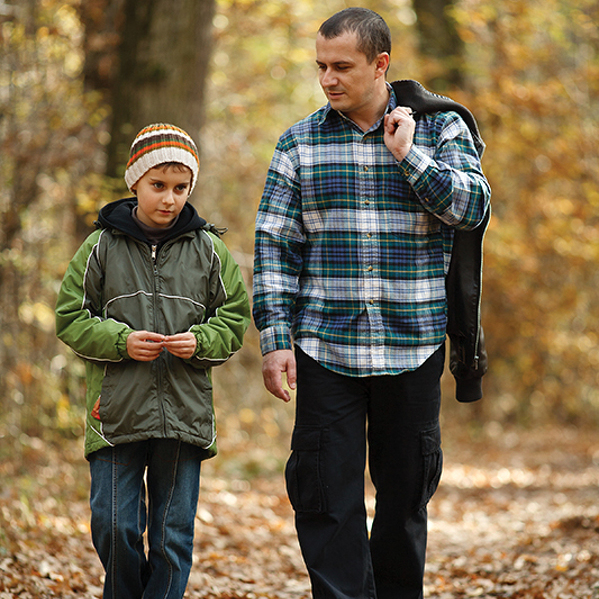 Living Well: The Power of a Father's Blessing